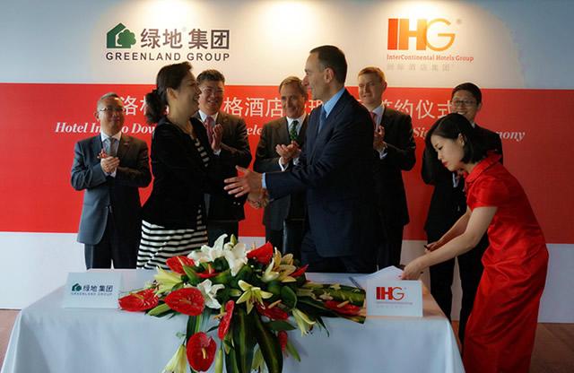 【上海品牌】绿地集团携手洲际集团打造洛杉矶市中心旗舰酒店