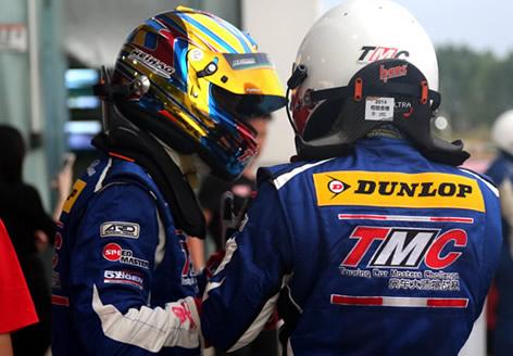 邓禄普轮胎全程支持TMC房车大师挑战赛