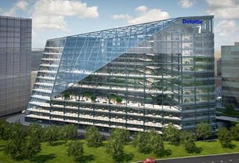 索尼4K解决方案打造全球领先的高科技办公楼锋崖
