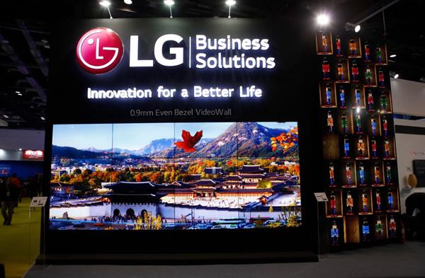 LG商用显示器璀璨亮相IFC