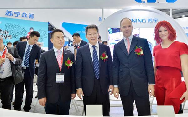 苏宁助力CE China展会 慧科技现场抢眼