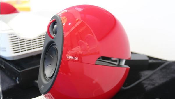 漫步者参展AWE 推新款2.1蓝牙家庭影音系统