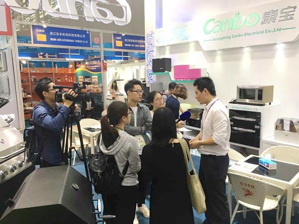 康宝消毒柜携众多名优产品精彩亮相第119届广交会