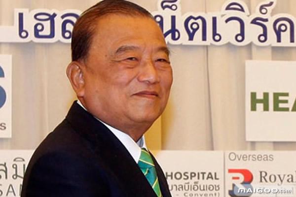 福布斯发布泰国十大富豪排行榜
