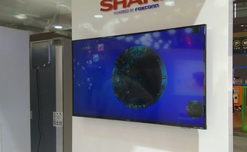 夏普携8K超高清电视亮相AWE 比1080p清晰16倍