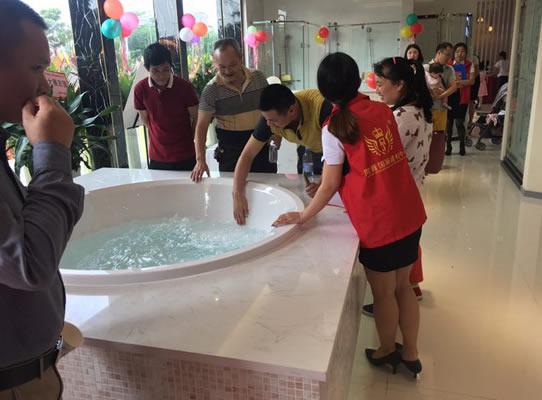 阿波罗卫浴东莞体验店在该建材中心盛大开业