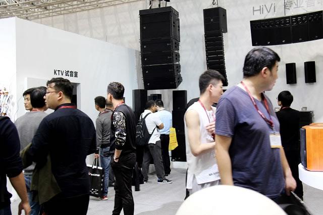 重磅出击HiVi惠威亮相广州国际灯光音响展