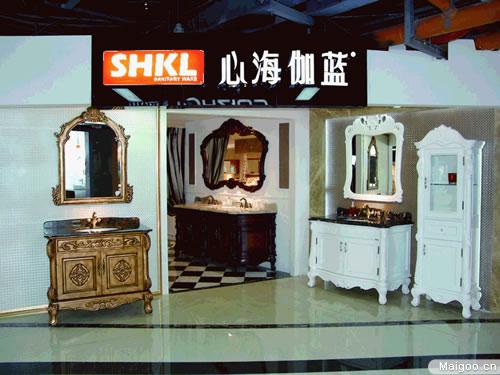 心海伽蓝崭新形象亮相中国陶瓷城