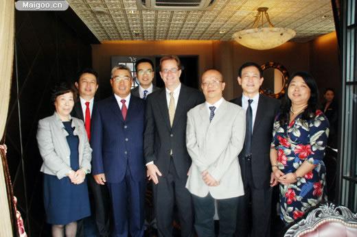 [尤尼泰税务师事务所]尤尼泰与德勤双方高层在上海会晤