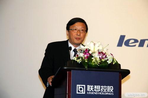 朱立南-联想控股有限公司总裁介绍