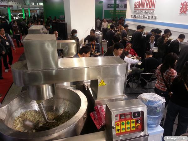 賽米控商用電磁爐參展第十九屆廣州國際廚房設備展覽會