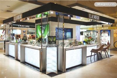 LAMER海藍之謎北京翠微百貨專柜盛大揭幕