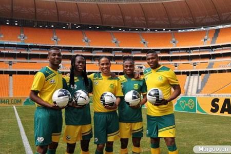彪马运动鞋与南非足协达成合作协议