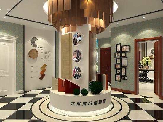 尚品本色木门品牌形象展厅:注重体验 注重感觉